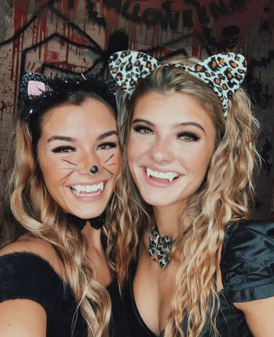 cute diy costume halloween for girls cats