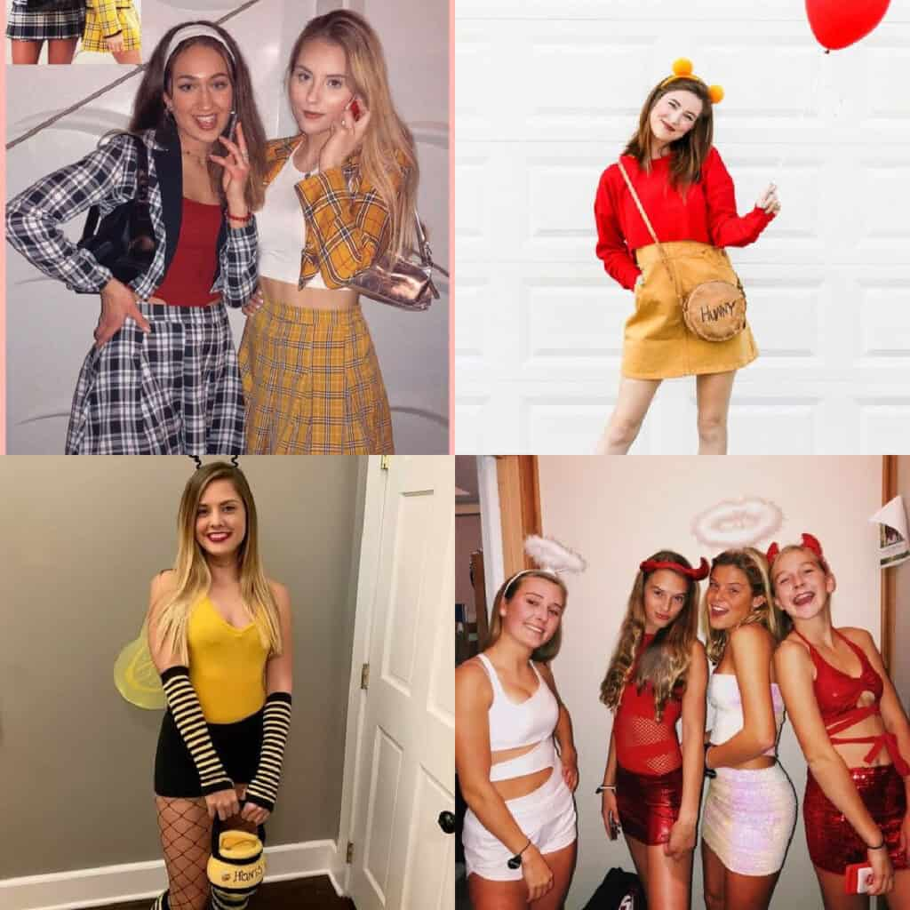 diy halloween costumes for teens girls collage of ideas
