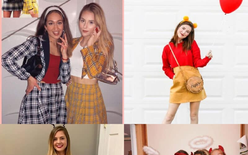 diy halloween costumes for teen girls collage of ideas