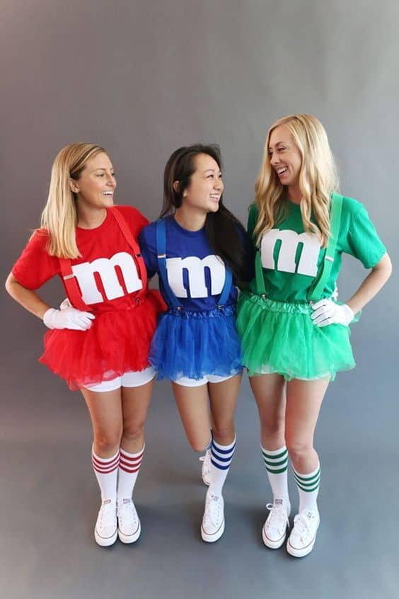 halloween costumes for teenage girl M&Ms