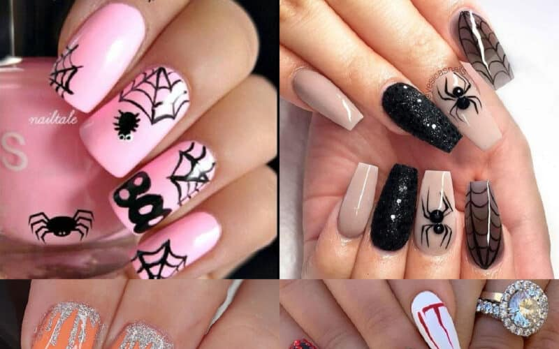 15 Cute Halloween Nails Design Ideas