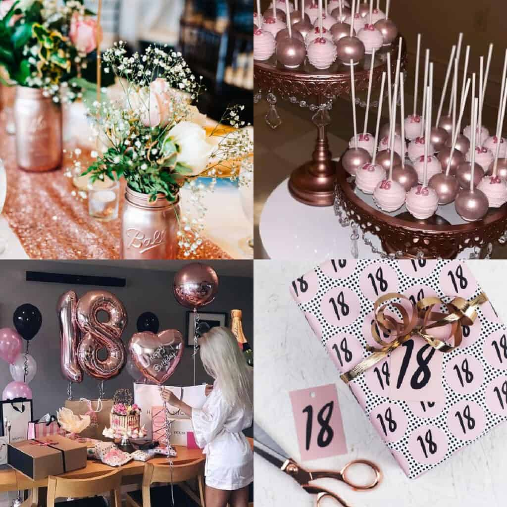 18th birthday party ideas pinterest collage
