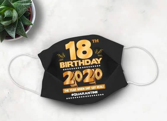 birthday party ideas for 18th birthday mask