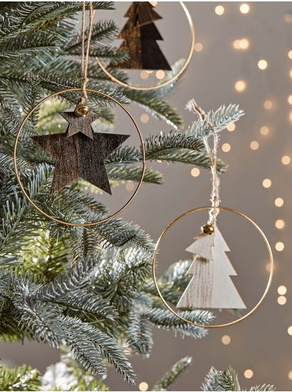 boho holiday ideas christmas circle trees