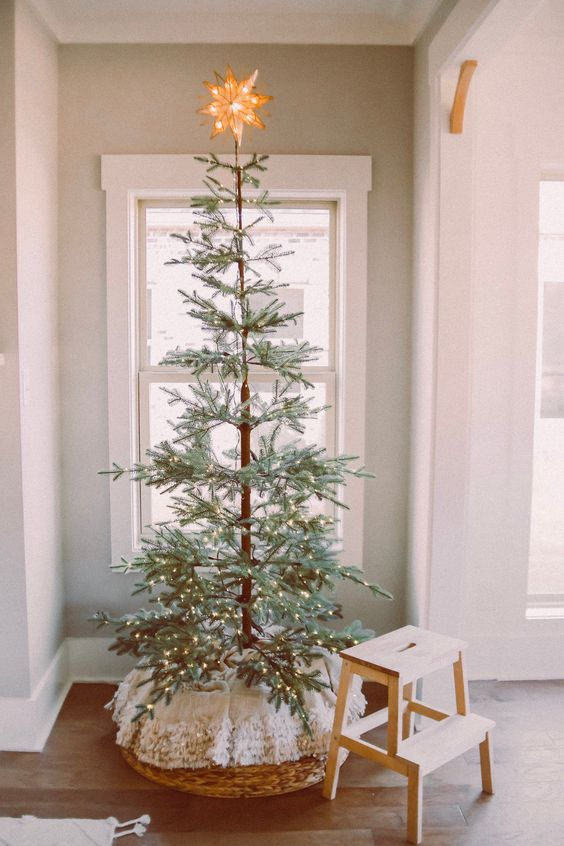 cute boho ideas for the holidays tree