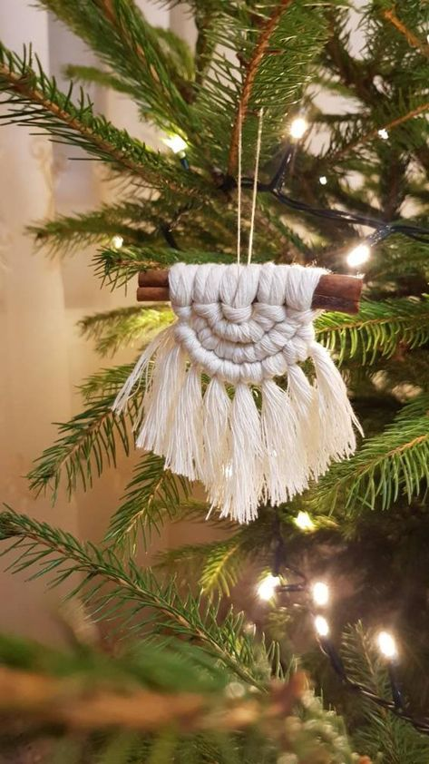 cute holiday ideas boho ornament
