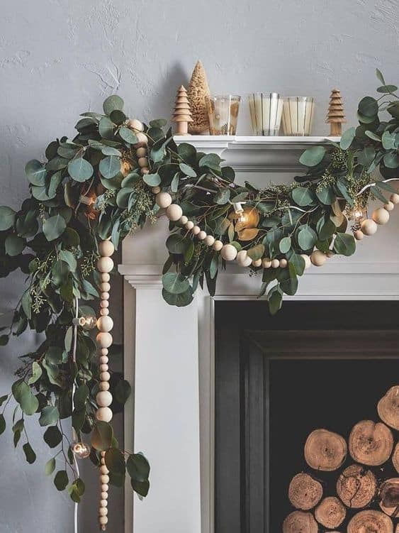 holiday ideas cute boho deco garland
