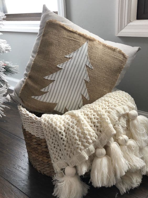 holiday ideas cute boho diy pillow