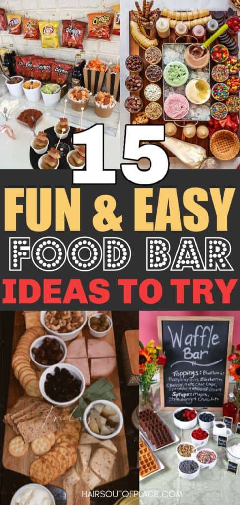 food bar ideas pinterest pin