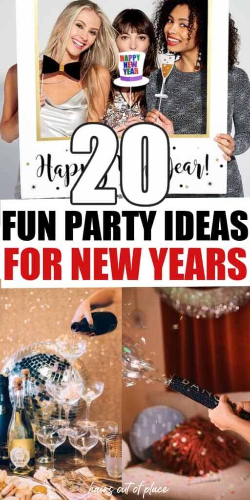 New Years party ideas pinterest pin