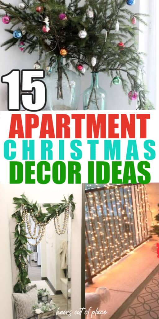 small apartment christmas decor ideas pinterest pin