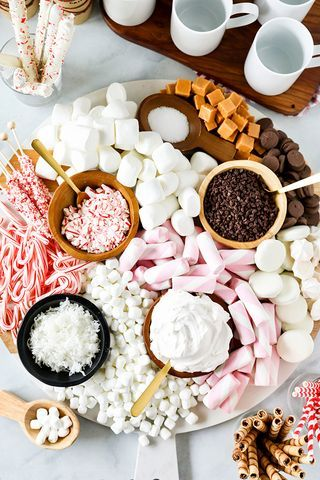cute ideas for the best food bar hot cocoa stand