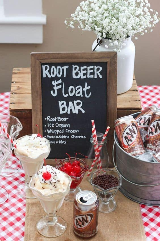 food bar ideas family will love root beer float bar