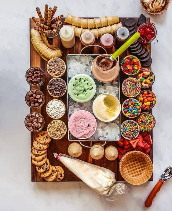 food bar ideas for fun diy sundae bar