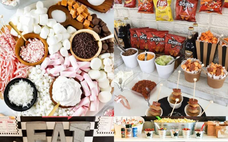 15 Food Bar Ideas for Parties