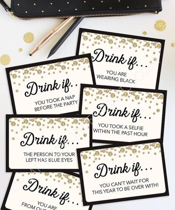 nye ideas for the best party drinking game