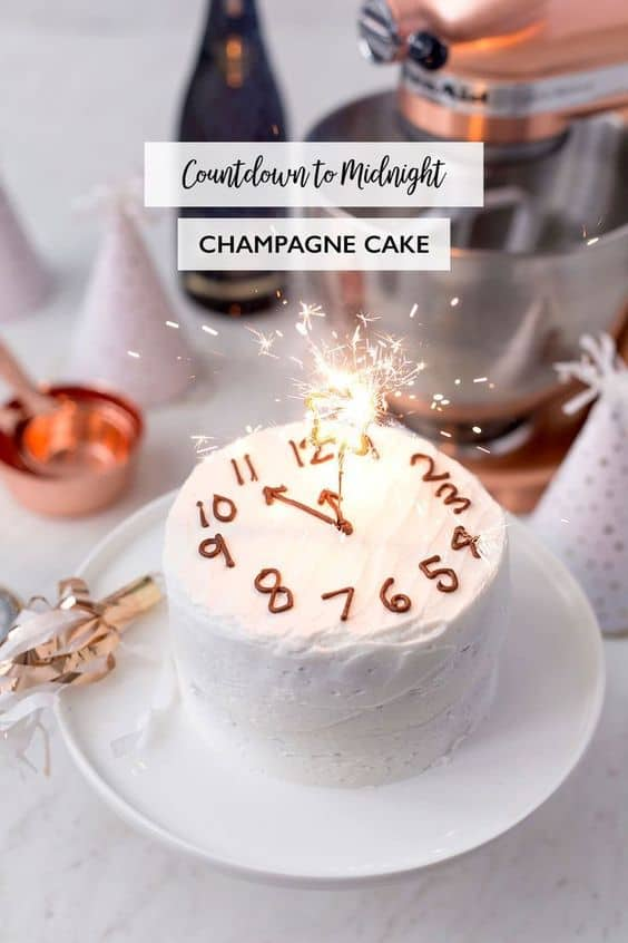 nye ideas you will love champagne cake