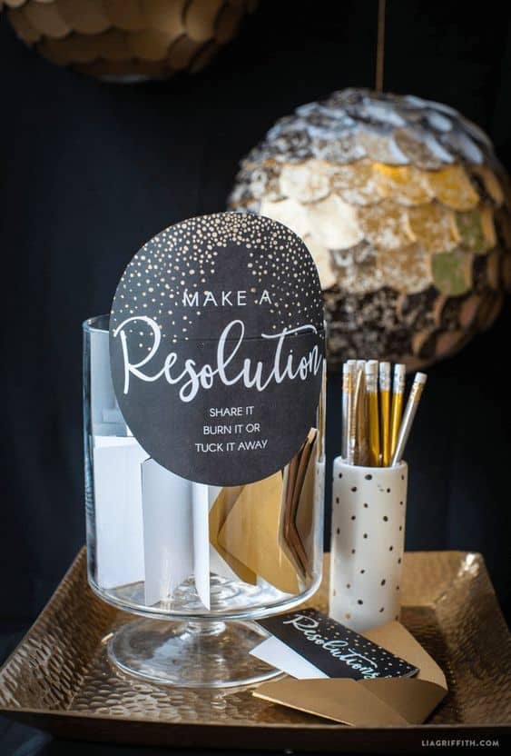 nye party ideas you will love resolution