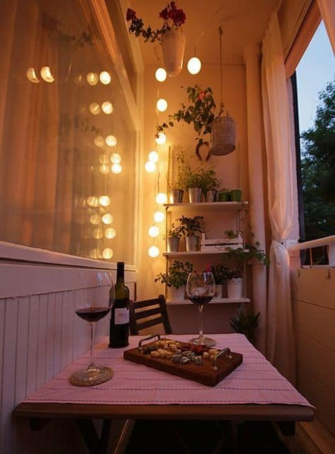best ways to decorate balcony outside dining with a view