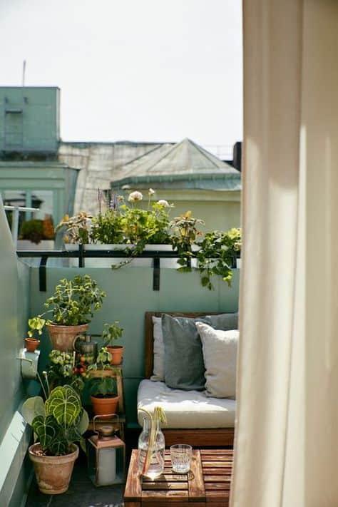 ideas for decorating the balcony plant decor