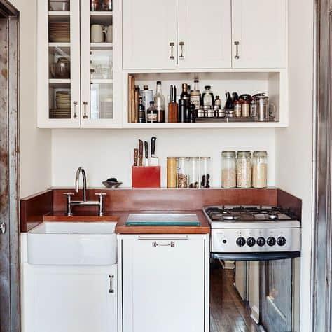 studio apartment ideas cute mini kitchen