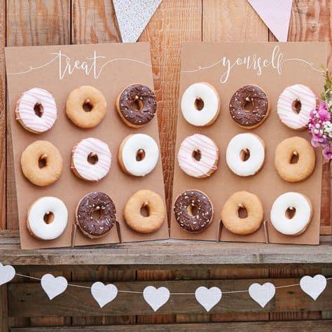 best food ideas grad party donut bar