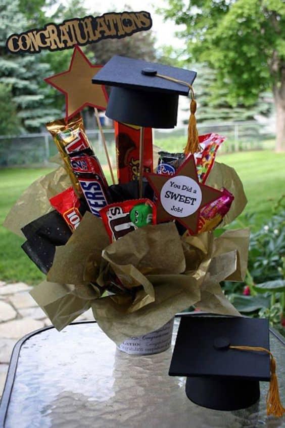 best grad ideas gift baskets diy cap basket