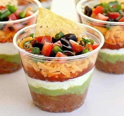 best graduation party food ideas nacho cup