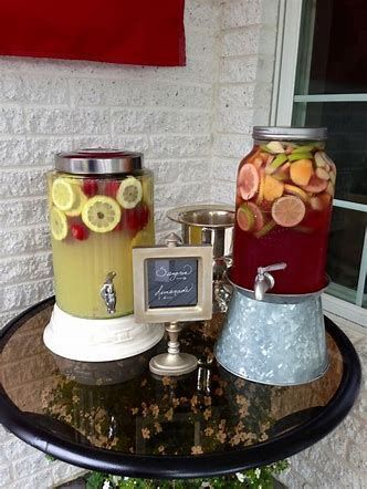 college grad party fun punch station