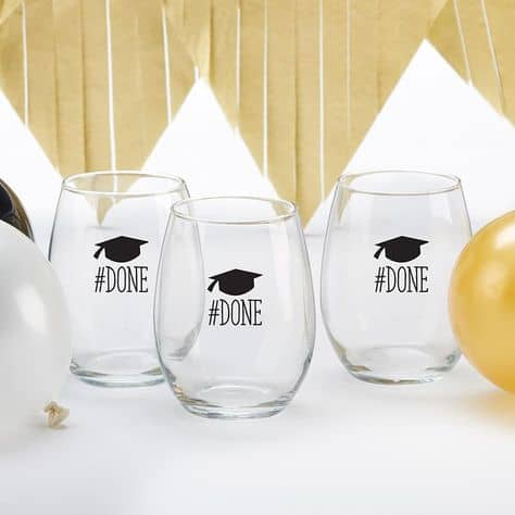 college graduation party grad glasses