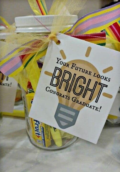 cute gift basket ideas graduation future looks bright basket