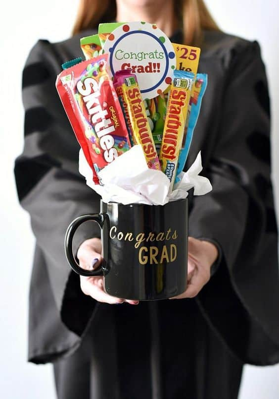 gift basket ideas for graduation congrats grad cup