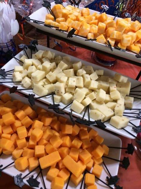ideas para fiestas de comida para graduados sabrosos aperitivos de queso