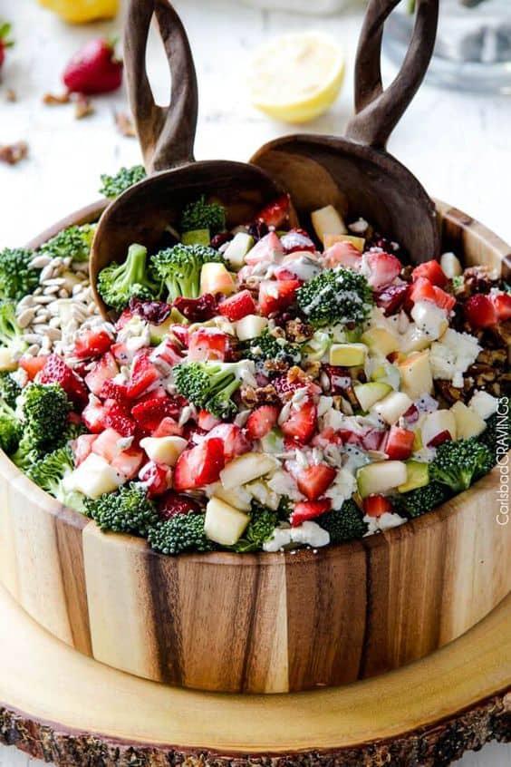 grad party food idea easy fruit salad