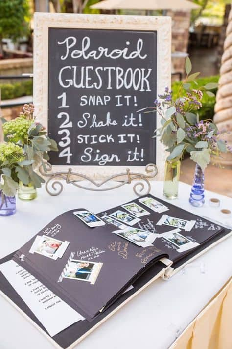 grad party ideas college guestbook pictures and notes