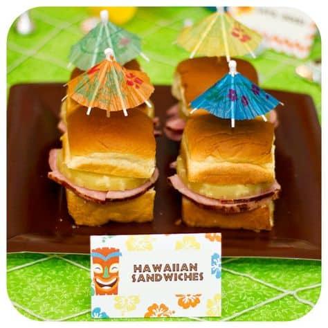 graduation party ideas food inspo hawaiian buns