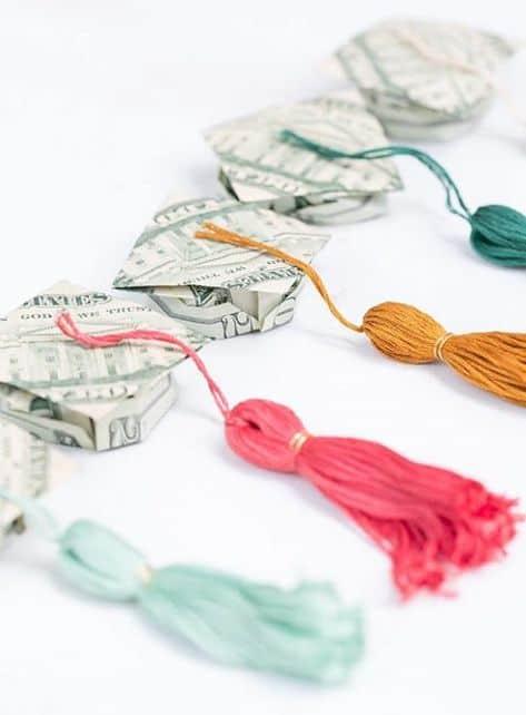 best grad money gifts little tassels
