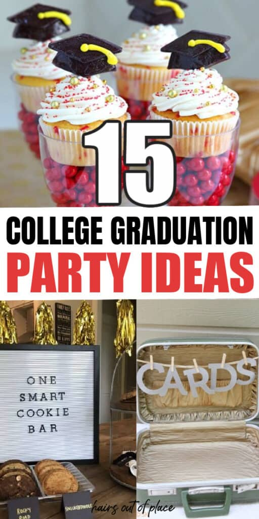 college graduation party ideas pinterest pin