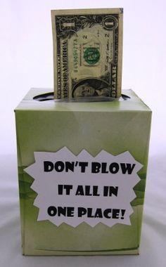fun graduation money gifts money tissue box