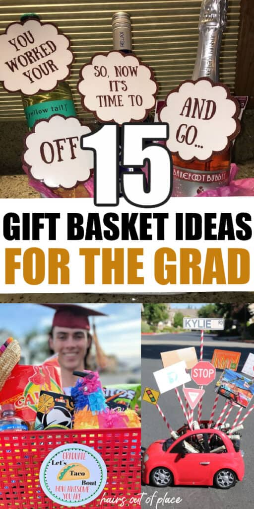 gift basket ideas for the grad