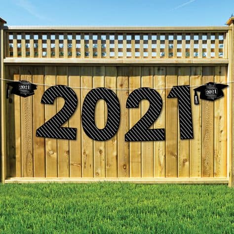 grad backdrop photo ideas 2021 sign grad backdrop