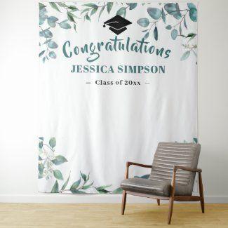 graduation backdrop ideas homemade grad banner