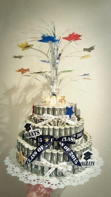 money gift ideas for graduation money grad cake