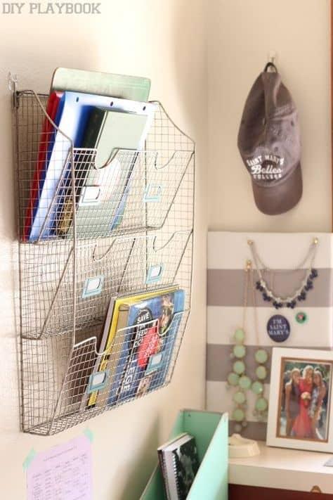best dorm room organization ideas
