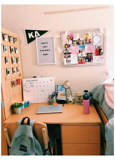 cute ideas college desk