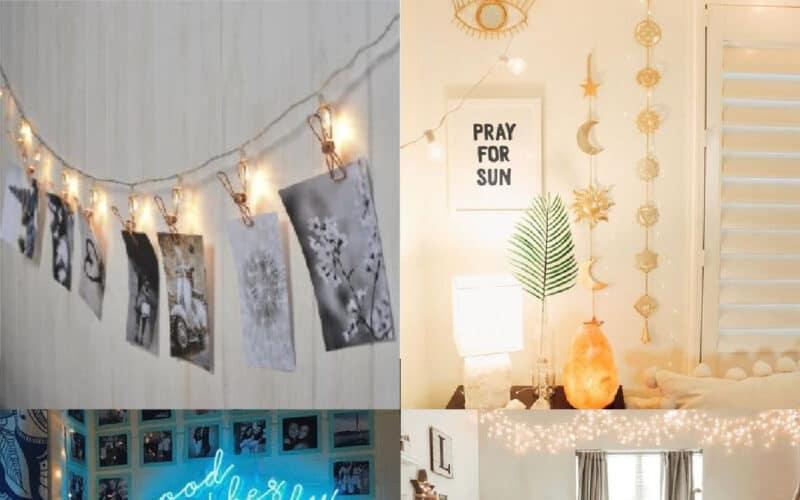dorm room light ideas cute and easy ideas