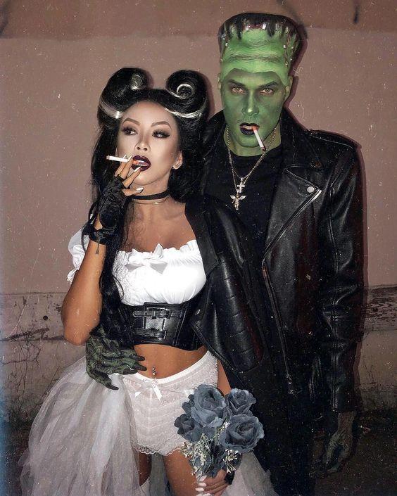 amazing Halloween couple costumes sexy