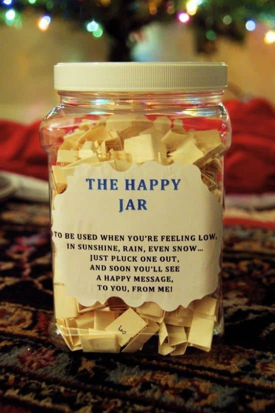 best christmas ideas for best friends the happy jar