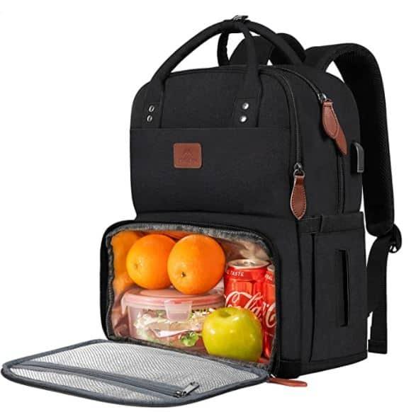 best college backpacks for men lunchbox bag built in lunchbox