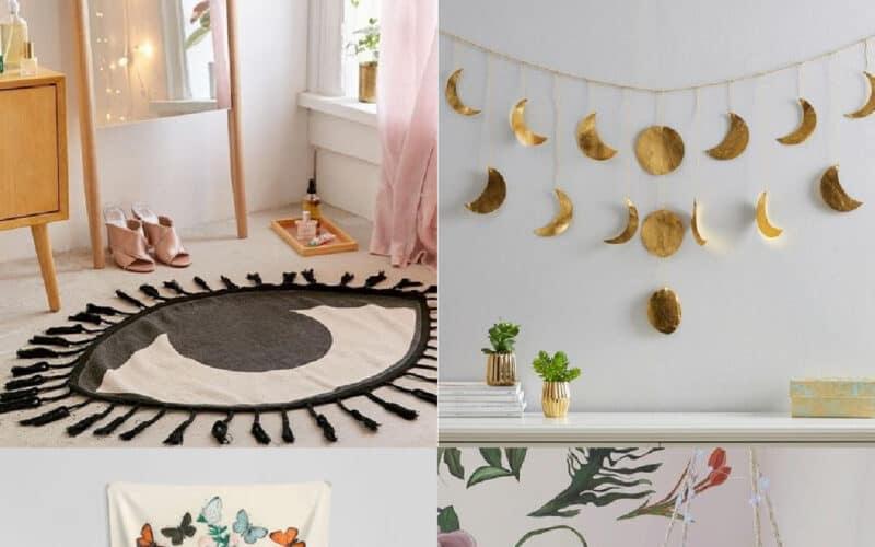 boho dorm room decor ideas cute